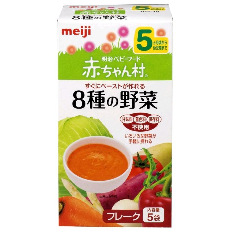 Bột ăn dặm số 5 của Meiji