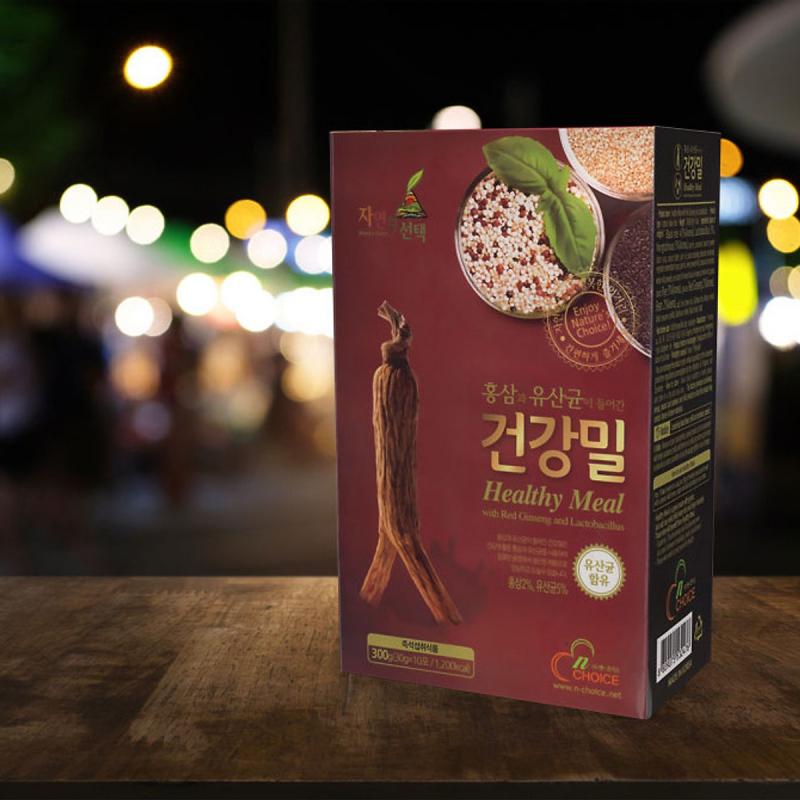 Bột ngũ cốc Hàn Quốc N-Choice Hồng Sâm