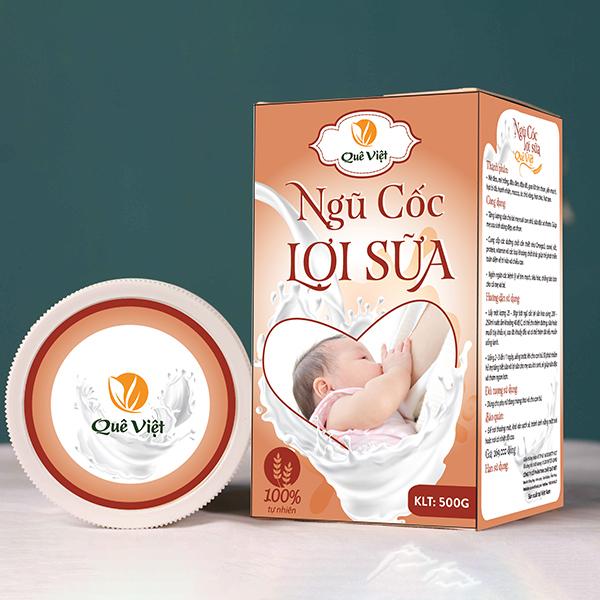 Ngũ Cốc Lợi Sữa Quê Việt