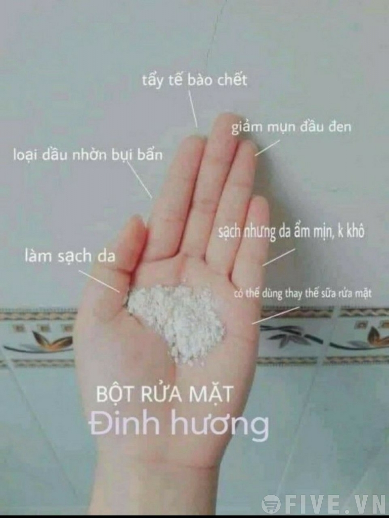Bột rửa mặt Đinh Hương Bà Lão
