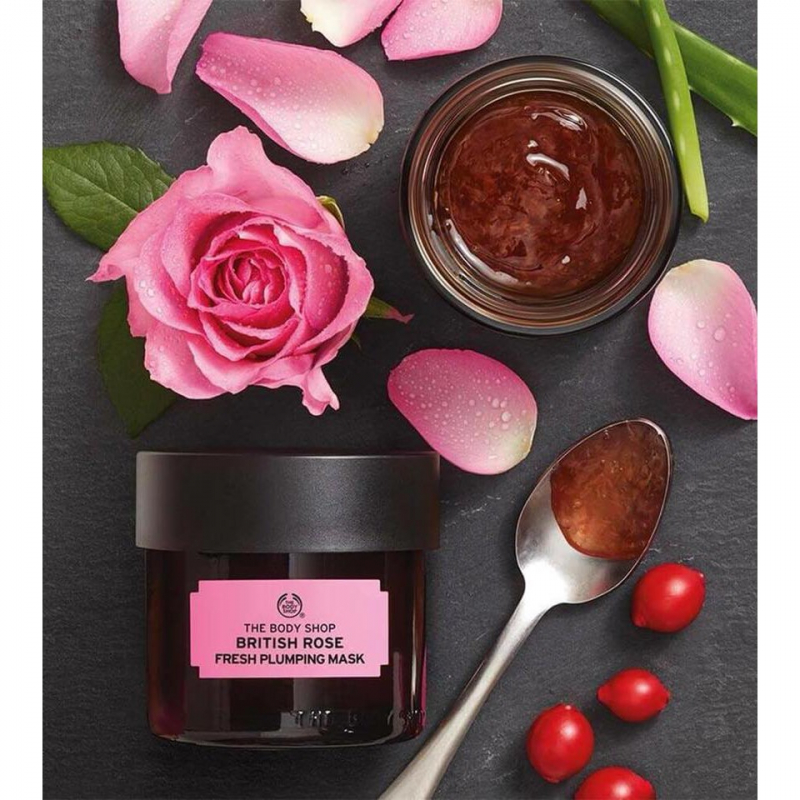 Mặt Nạ The Body Shop British Rose