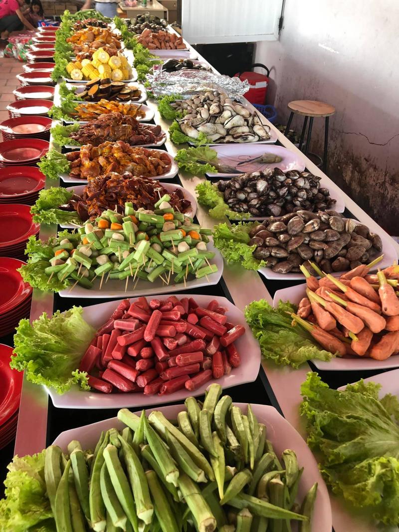 Buffet BBQ 99k PHÚ CHÁNH luôn đảm bảo tiêu chuẩn vệ sinh thực phẩm