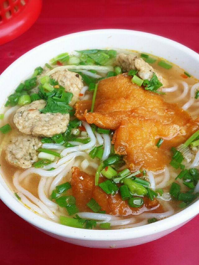 Bún cá cay Huy Trang