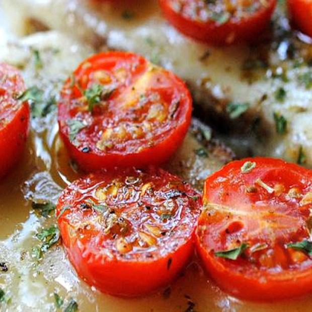 Cà chua nướng