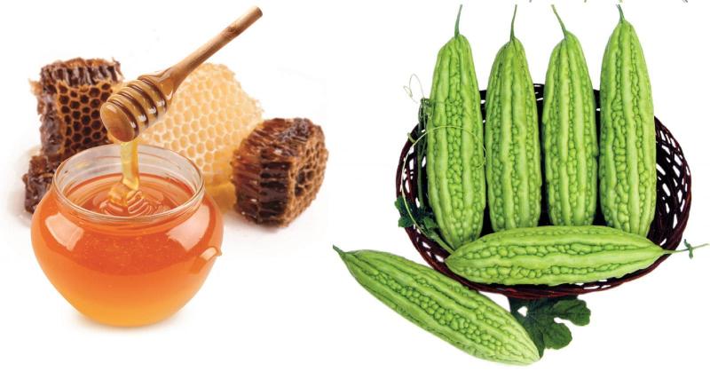 Cách giảm cân bằng mướp đắng và mật ong