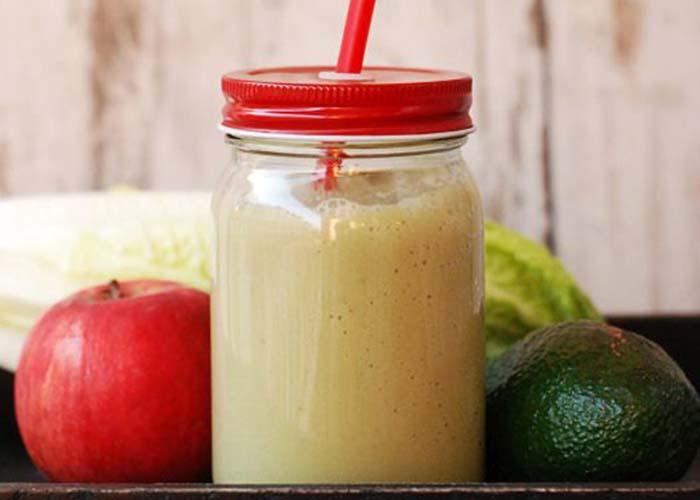 Cách xay sinh tố táo đỏ với cam sành, sữa tươi