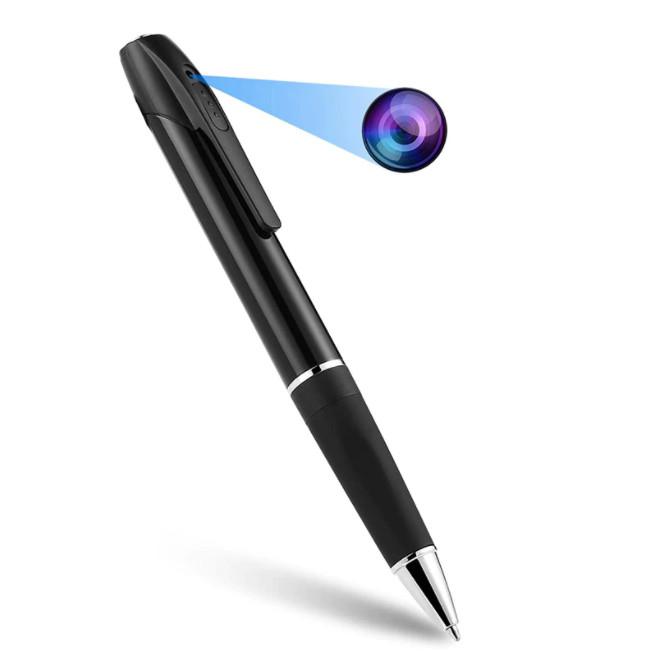 Camera ngụy trang Bút Viết SPen S8 Pro với thiết kế bên ngoài giống hệt cây bút viết bình thường.
