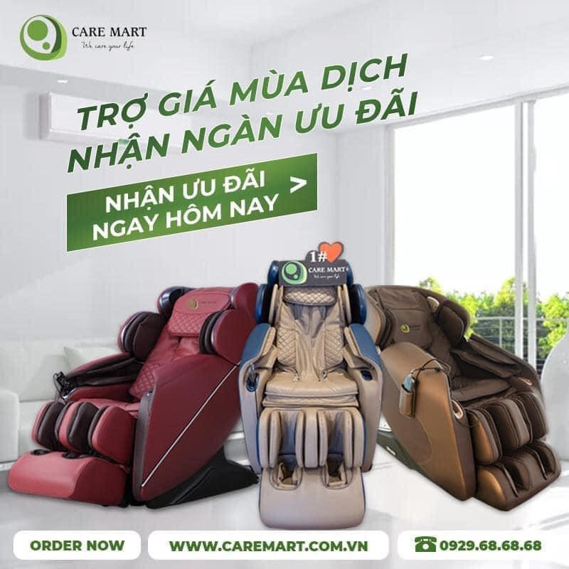 Care Mart - Thế Giới Ghế Massage