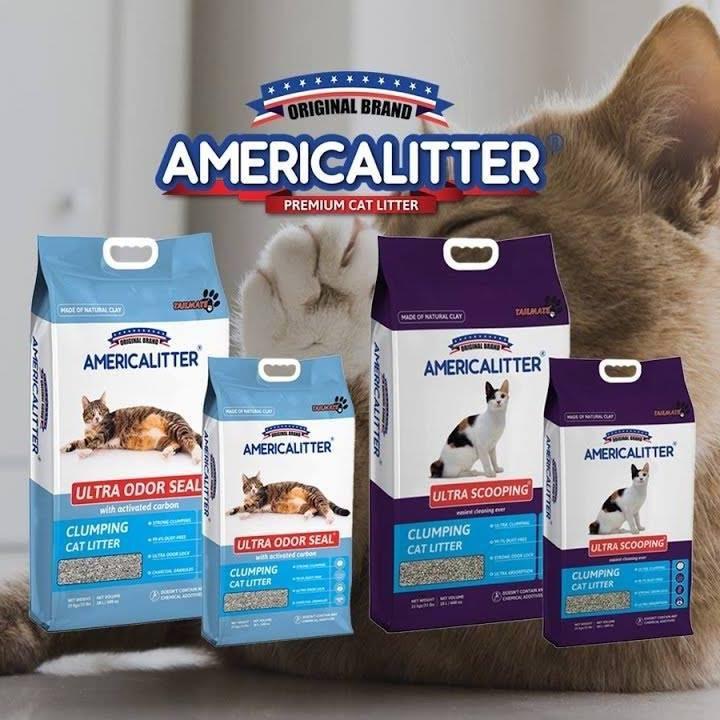 Cát vệ sinh cho mèo America Litter