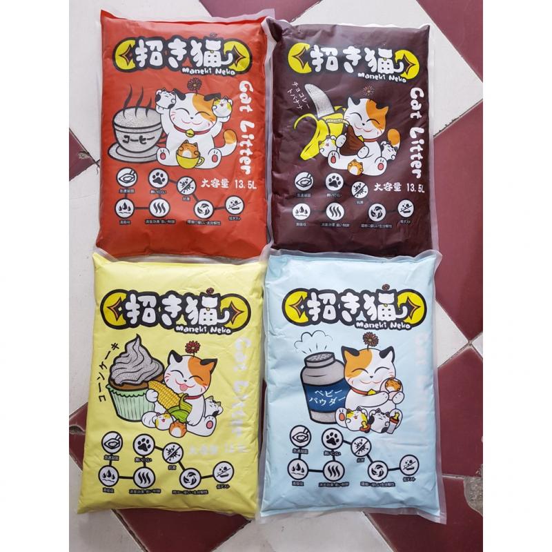 Cát vệ sinh cho mèo MANEKI NEKO