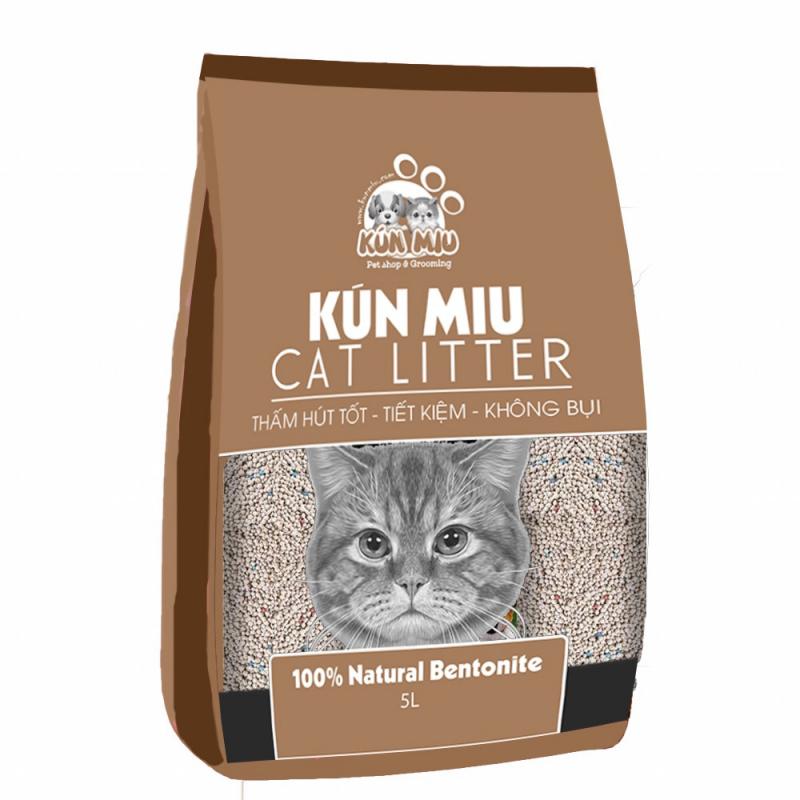 Cát vệ sinh cho mèo Kún Miu