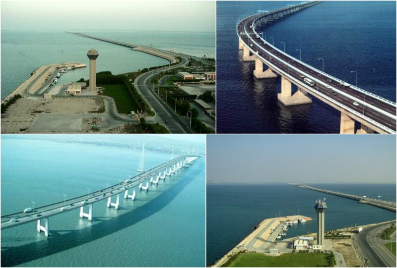 Cầu King Fahd Causeway - Ả Rập và Bahrain
