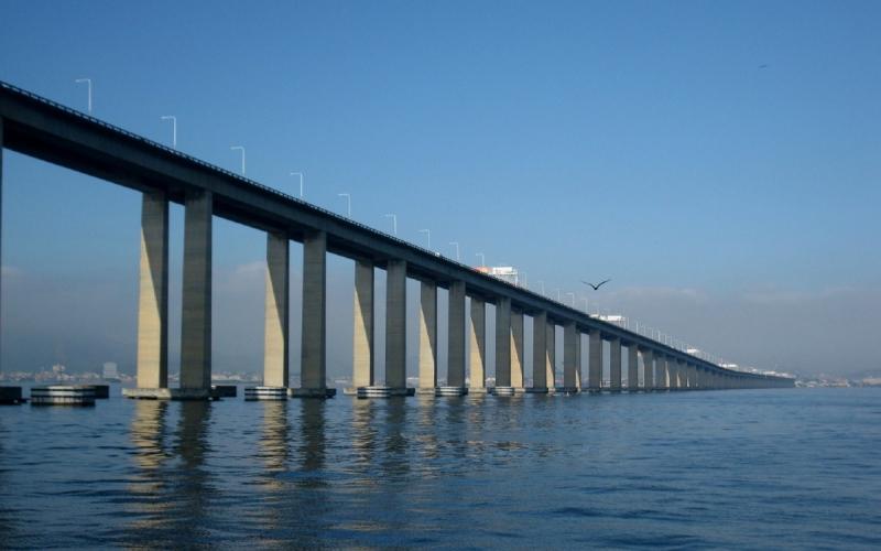 Cầu Rio-Niterói - Brazil