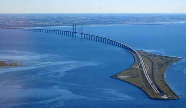 Cầu The Oresund - Đan Mạch và Thụy Điển