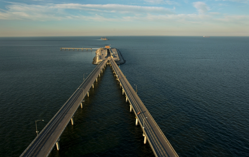 Chesapeake Bay Bridge Tunne - Mỹ
