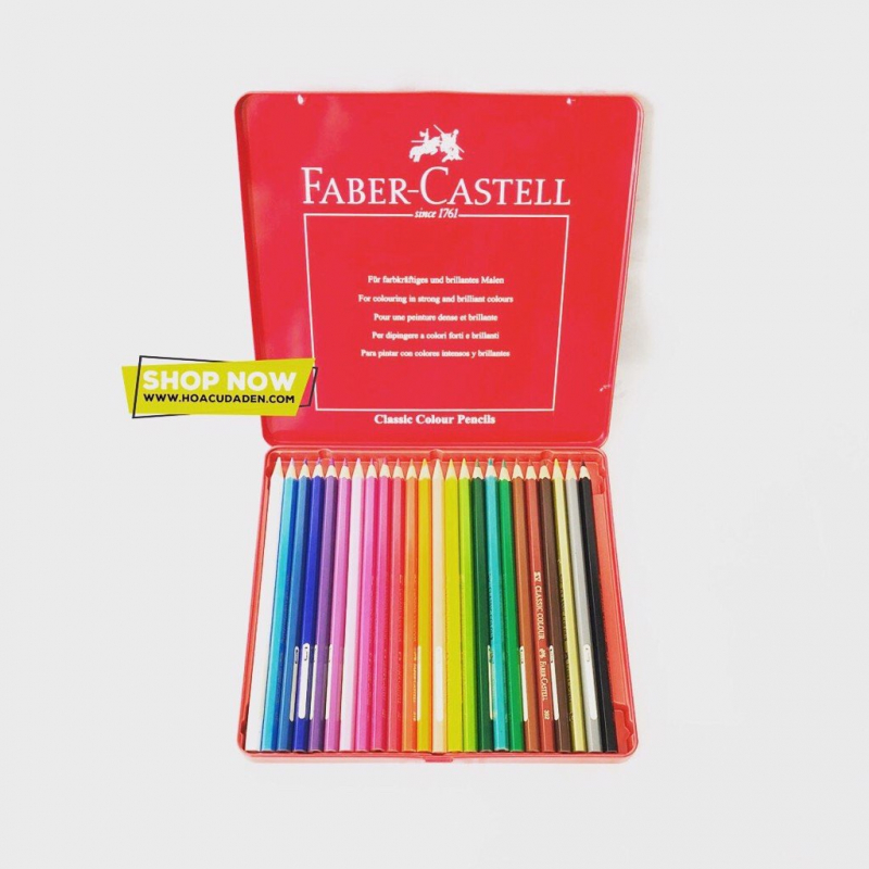 Chì Màu Khô Classic Knight Faber-Castell