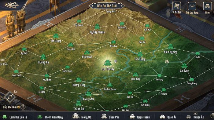 Tự do thể hiện bản lĩnh, tư duy chiến lược đỉnh cao trong game Chiến Vương Tam Quốc!