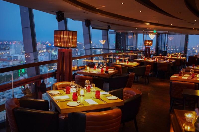 Top 9 Nhà hàng sang chảnh, view ngắm TP.HCM từ trên cao
