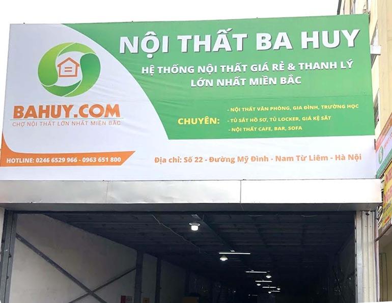 Top 8 Chợ thanh lý nội thất lớn nhất Hà Nội