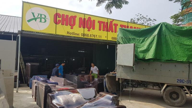 Chợ nội thất thanh lý Việt Ba