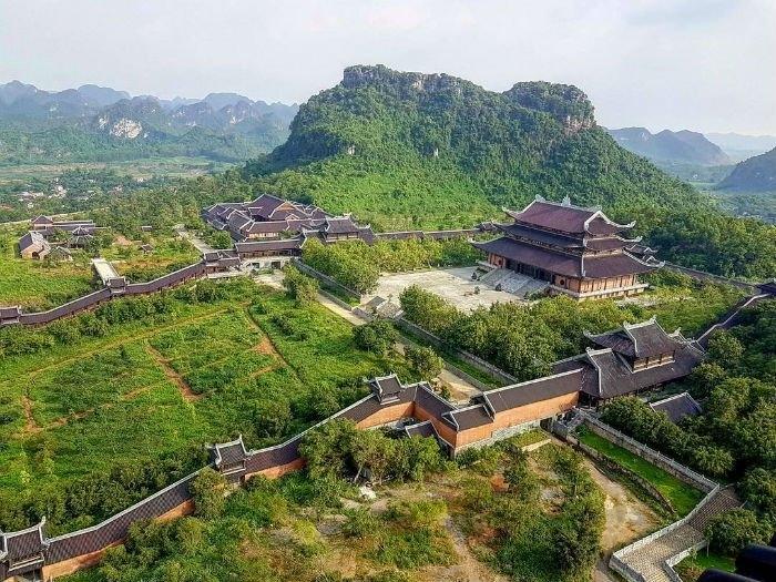 Toàn cảnh chùa Bái Đính
