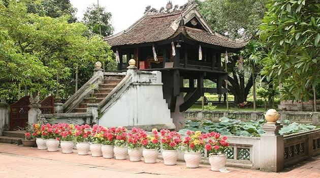 Đây là ngôi chùa linh thiêng mà khách du lịch nước ngoài rất ưa thích