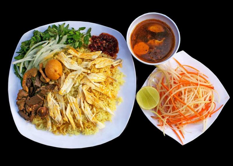 Cơm gà Quảng Châu 2