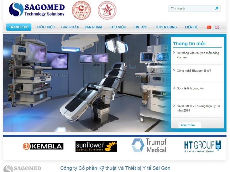 Công ty Cổ phần Kỹ thuật Và Thiết bị Y tế Sài Gòn – SAGOMED