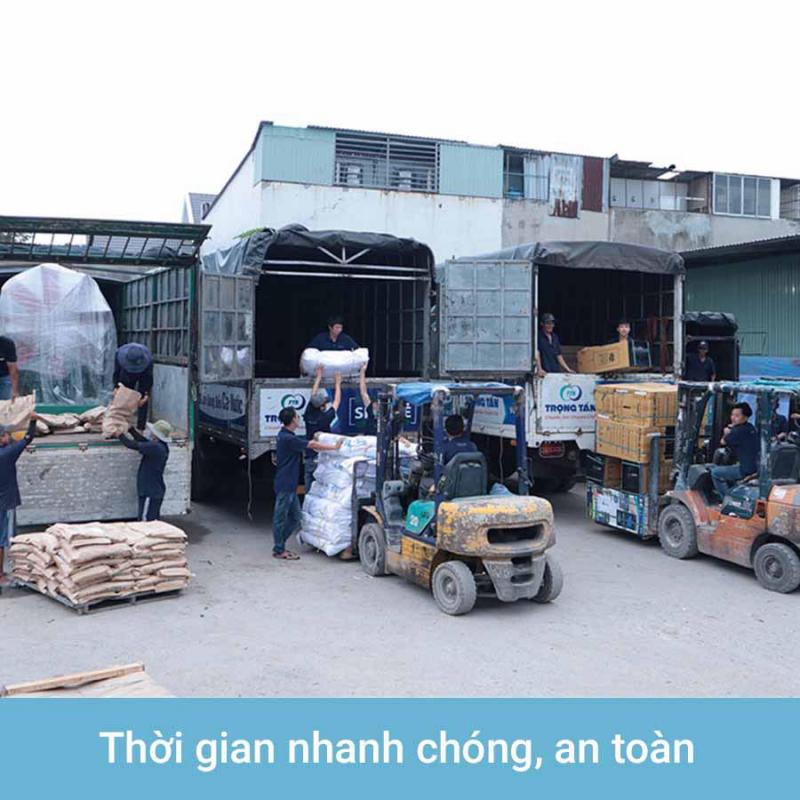 Các mặt hàng vận chuyển không bị giới hạn bao gồm các mặt hàng gia dụng, hàng quảng cáo, hàng sản xuất công nghiệp, hàng kim khí điện máy và các mặt hàng máy móc vật liệu xây dựng quá khổ quá tải