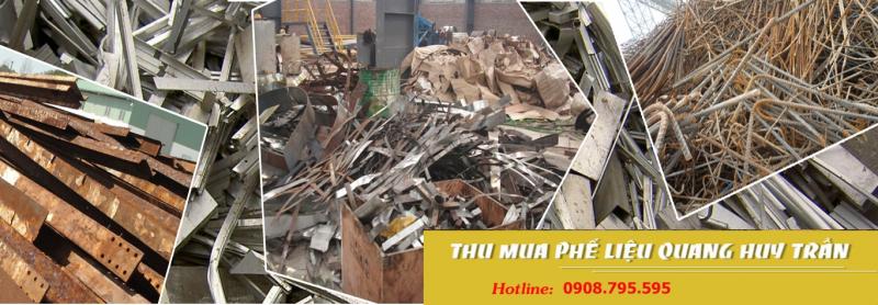 Quang Huy Trần chuyên nhận hợp đồng dài hạn thu mua phế liêu đồng, nhôm, inox, sắt, thép, nhựa các loại với số lượng lớn trên toàn quốc