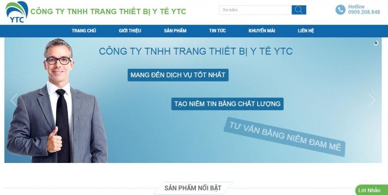 Công ty TNHH Trang Thiết Bị Y Tế YTC