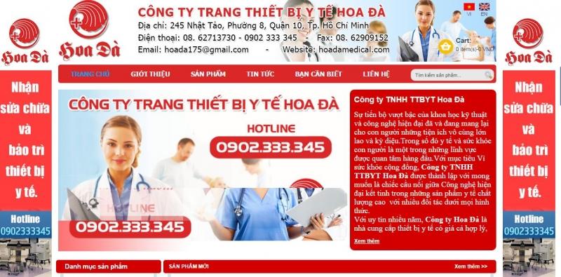 Công ty TNHH TTBYTE Hoa Đà
