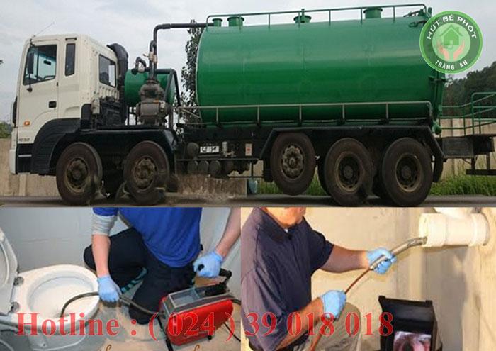 Công ty môi trường hút bể phốt Tràng An