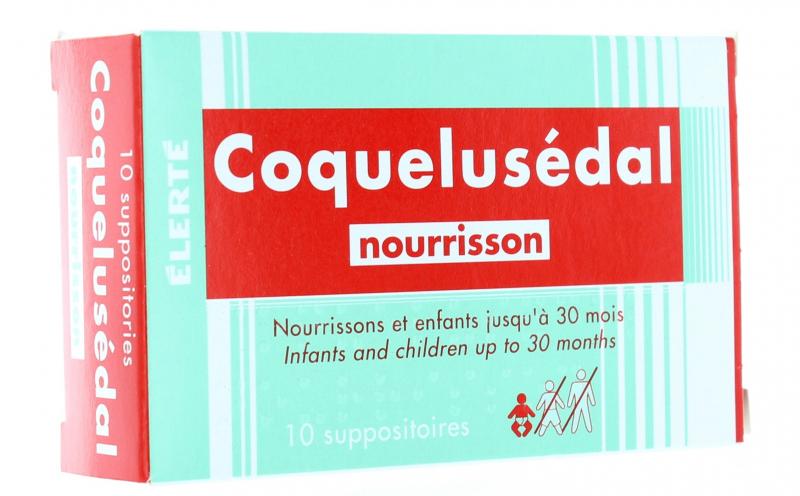 Coquelusedal - Viên Đặt Cho Trẻ Từ Sơ Sinh Tới 30 Tháng
