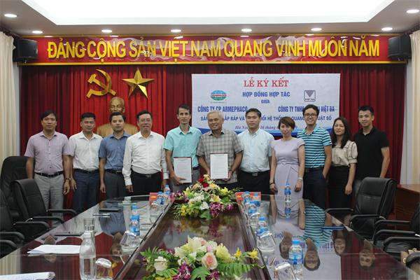 Armephaco ký kết hợp tác với Công ty TNHH Thiết bị Việt Ba