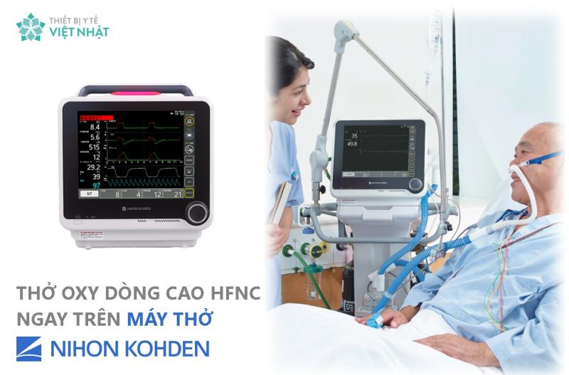 CTCP Thiết bị Y tế Việt Nhật cung cấp nhiều loại máy thở hiện đại
