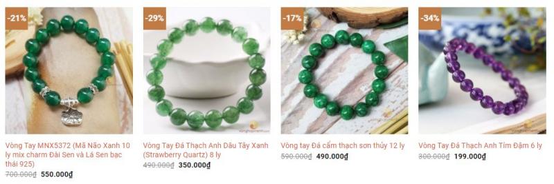 Top 6 Địa chỉ bán vòng đá phong thủy uy tín nhất tỉnh Thừa Thiên Huế