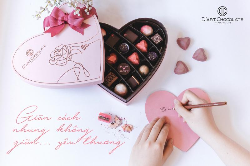 D'Art Chocolate là một sự lựa chọn đáng yêu dành cho các cô gái trong ngày lễ tình nhân