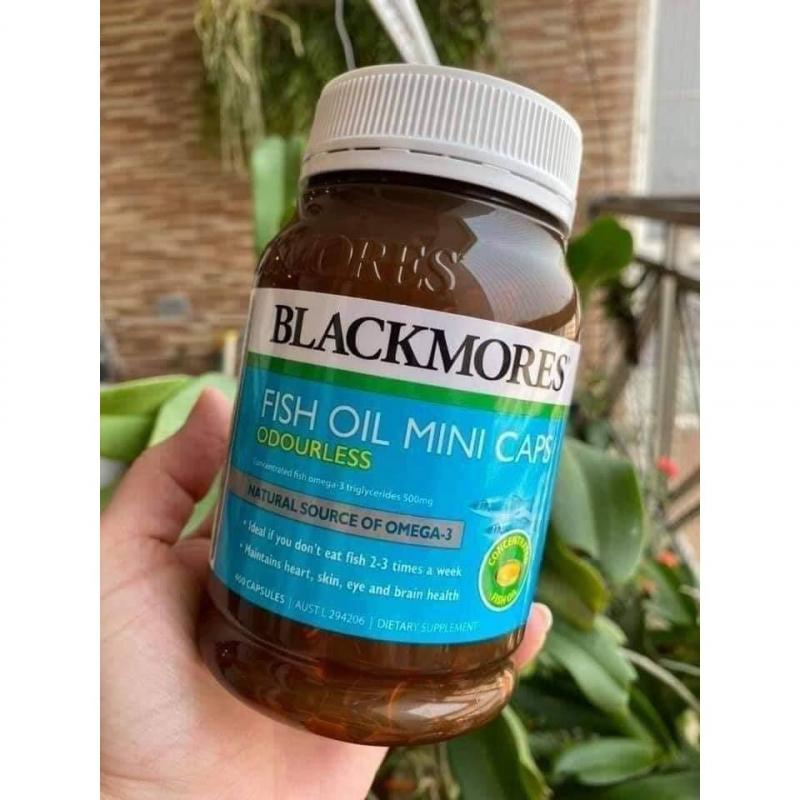 Blackmores Odourless Fish Oil mini Capsules