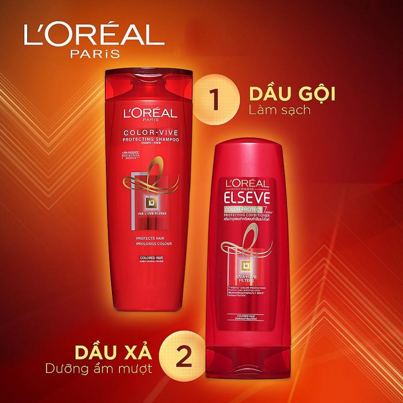 Dầu Gội Giữ Màu Cho Tóc Nhuộm Color-Vive Color Vive Protecting Shampoo của L'Oréal  Paris