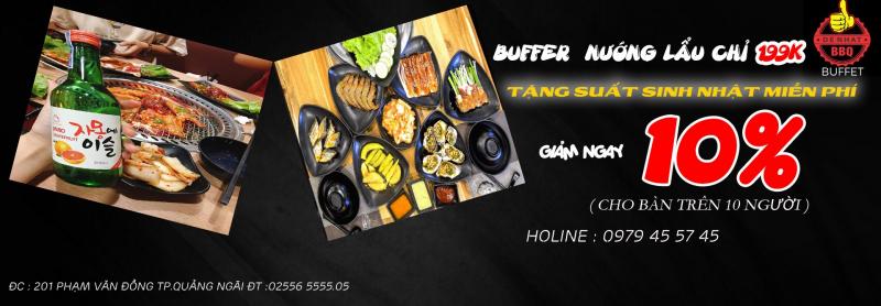 Đệ Nhất BBQ - Buffet Quảng Ngãi