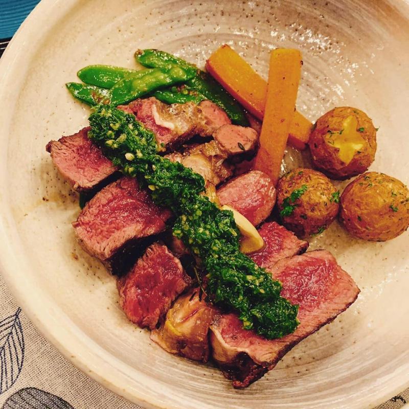 Món ăn ngon được chế biến và ướp rất hợp khẩu vị