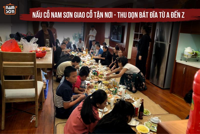 Dịch Vụ Nấu Cỗ Tại Nhà - Nam Sơn