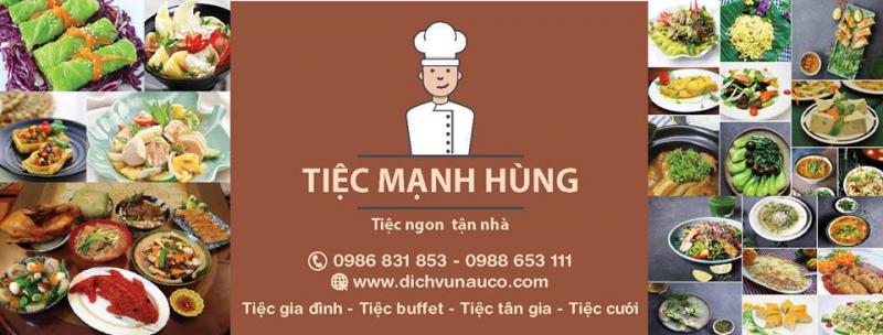 Dịch Vụ Nấu Cỗ Tại Nhà- Tiệc Mạnh Hùng