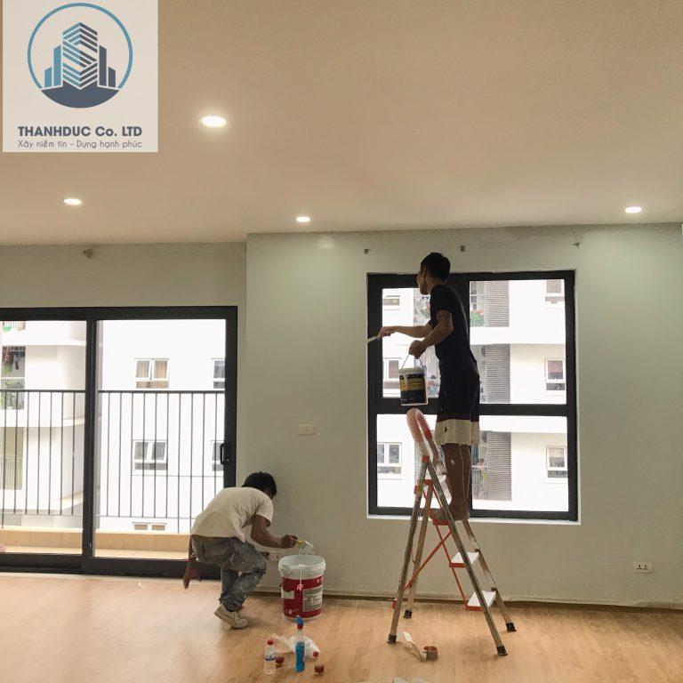 Dịch vụ sơn nhà Khang Gia