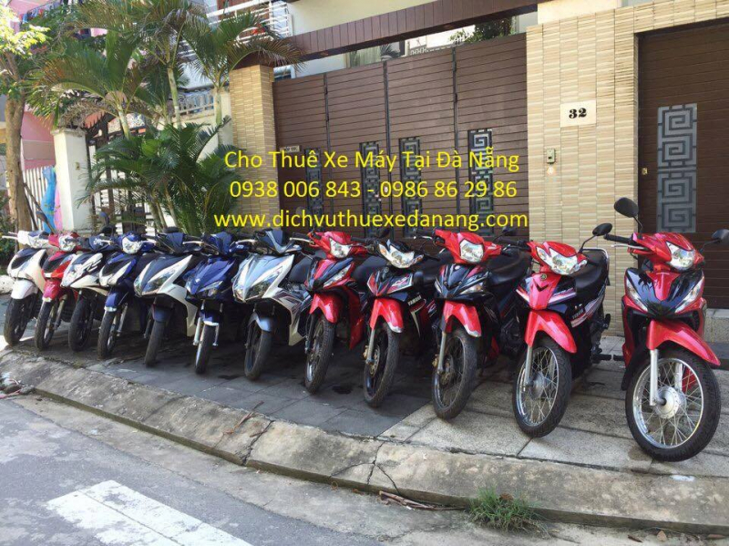 Top 5 Dịch vụ cho thuê xe máy uy tín giá rẻ tại Đà Nẵng