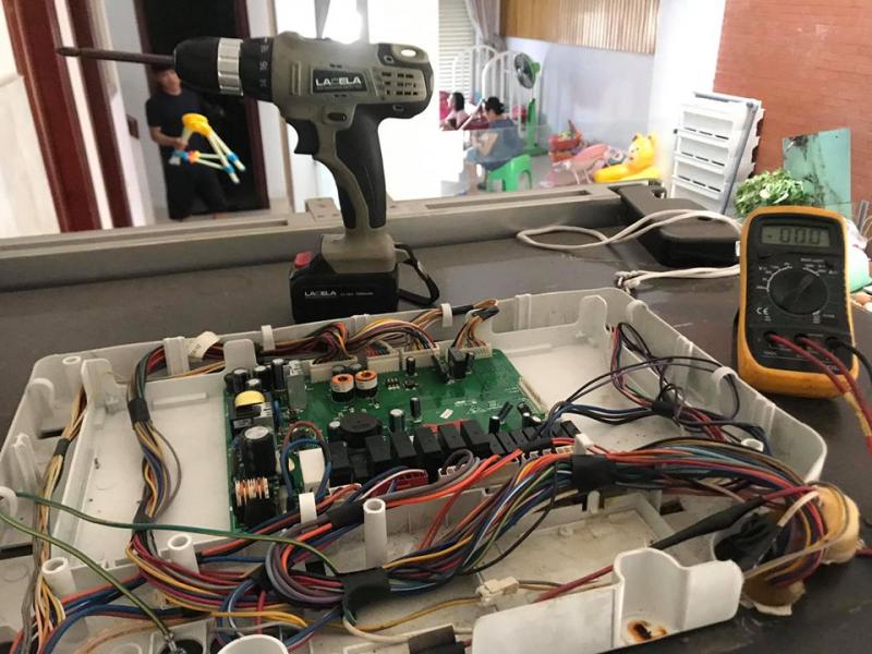 Điện Lạnh Hoàng Gia Phát Khắc phục triệt để nhiều hư hỏng khác nhau trên thiết bị máy nước nóng gián tiếp và trực tiếp