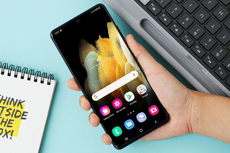 Điện thoại Samsung Galaxy S21 Ultra 5G 128GB