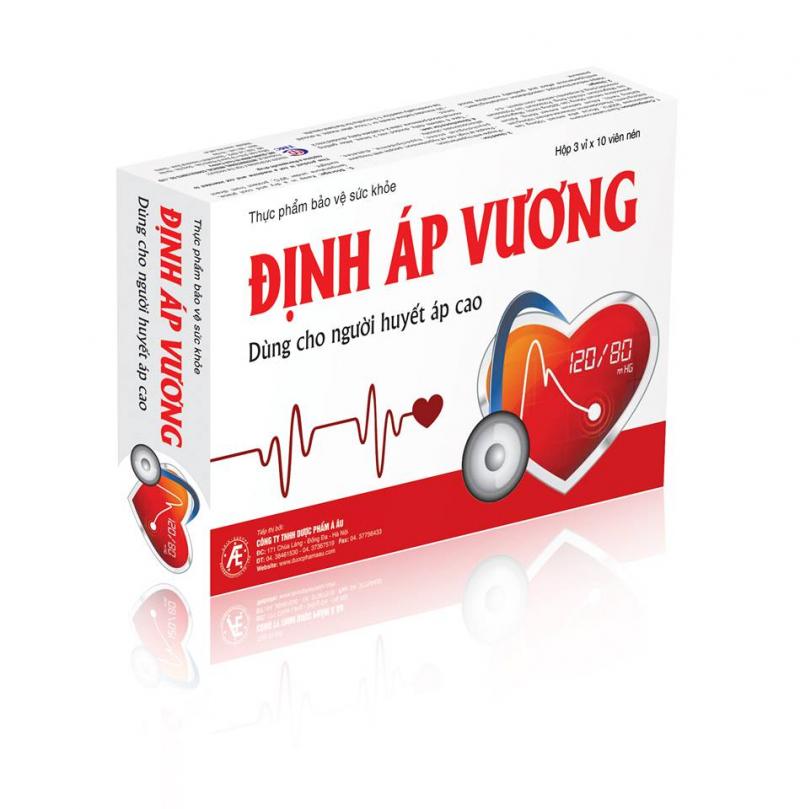 Top 10 Thực phẩm chức năng tốt cho người cao huyết áp