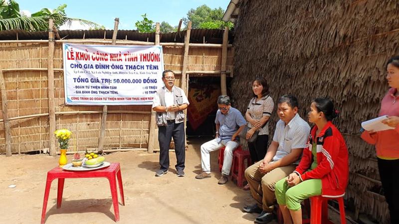 Đoàn từ thiện Minh Tâm – Chi hội bảo trợ bệnh nhân nghèo TP. Hồ Chí Minh